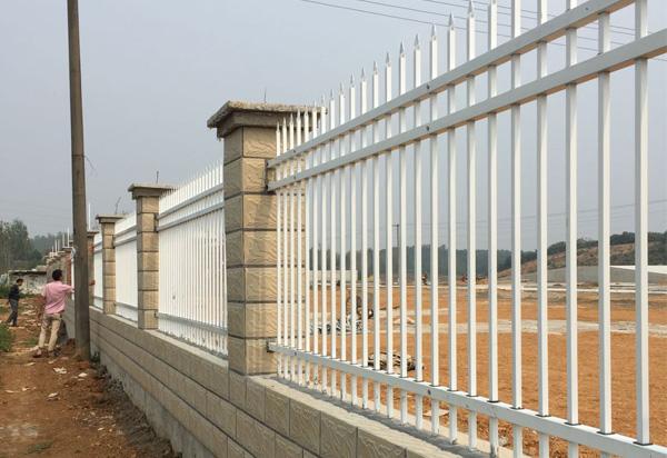 围墙栅栏-湖北锌钢围栏