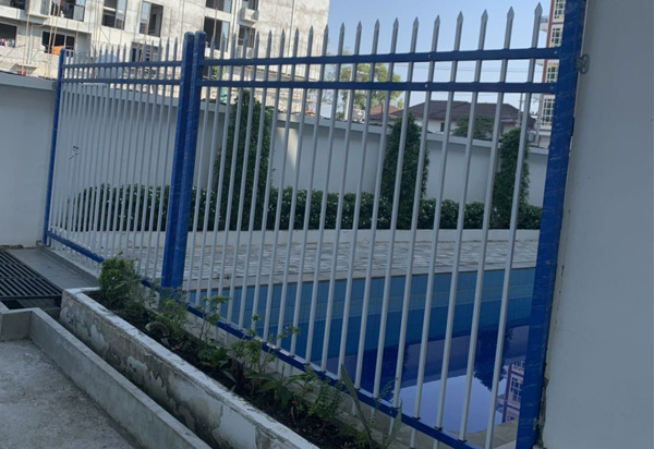 围墙栅栏-锌钢围栏