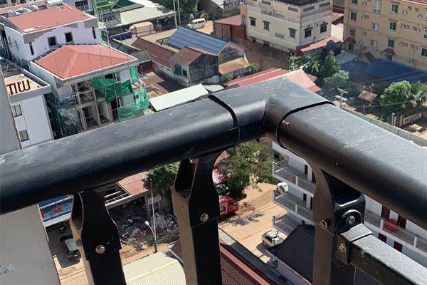 交通锌钢护栏工程案例