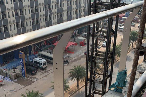 锌钢道路护栏工程案例